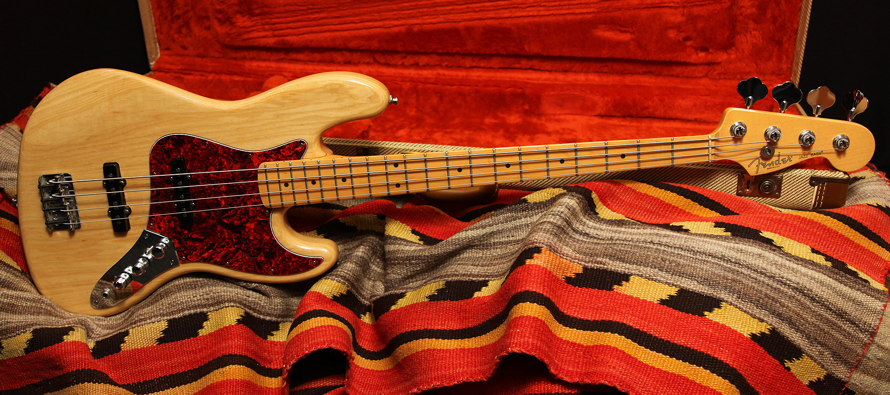 1999 Fender Jazz Bass Quot Natural Quot Rumble Seat Music