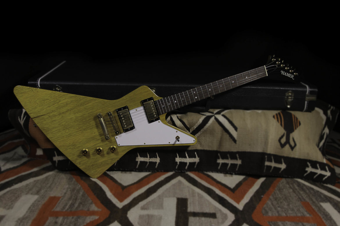 hamer korina limited edition explorer 25 rumble seat music